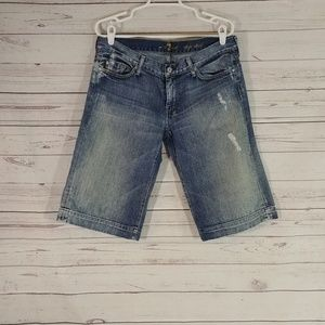 7 For all Mankind Dojo Short Jeans sz 32